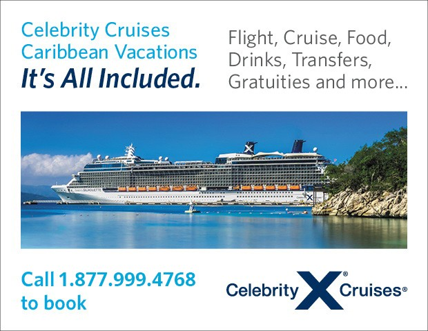 celebrity cruises carribean vacations all included