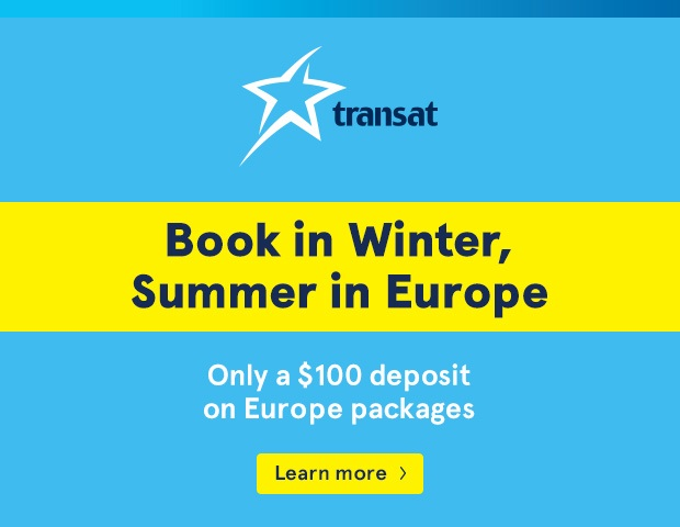 transat europe travel packages summer