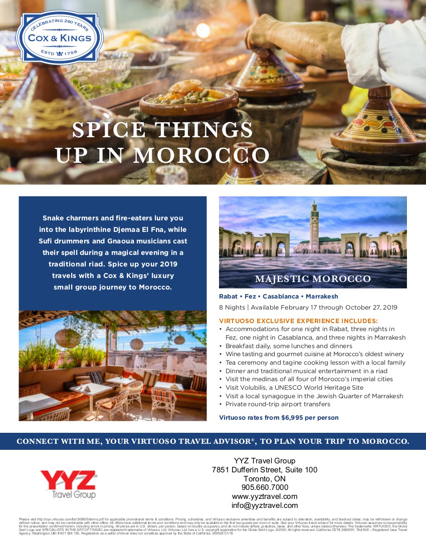 Spice Things Up in Marocco
