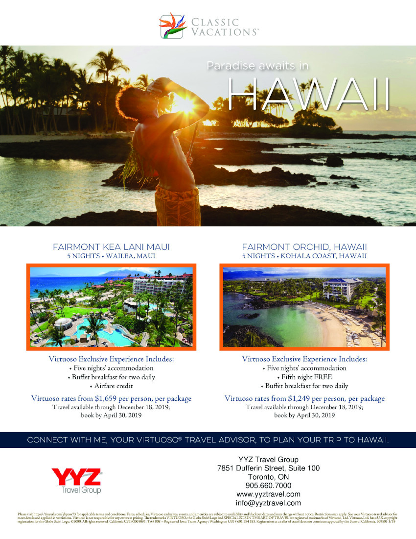 Paradise Awaits in Hawaii | Classic Vacations