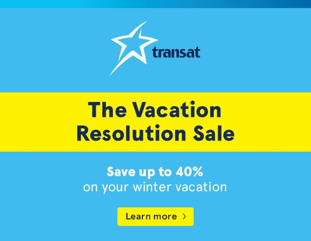 Vacation Resolution Sale YYZ Travel Agency