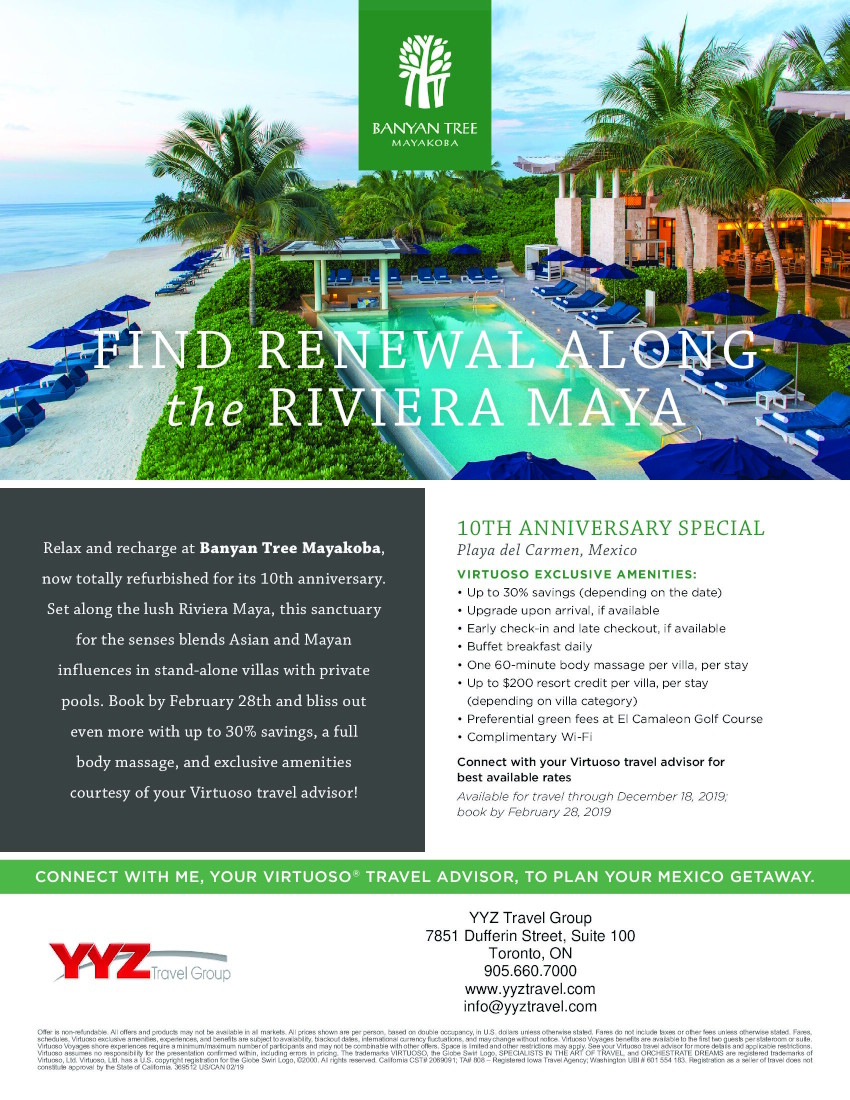 Find Renewal Along the Riviera Maya