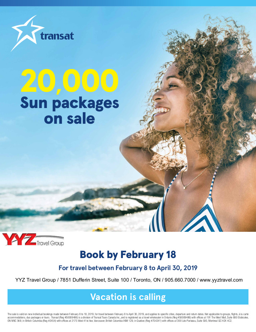 20000 Sun Packages on Sale