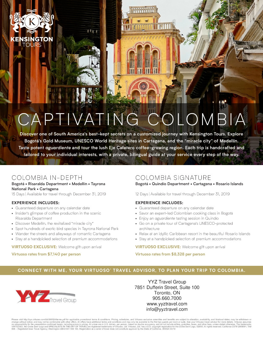 Captivating Colombia | Virtuoso exclusive