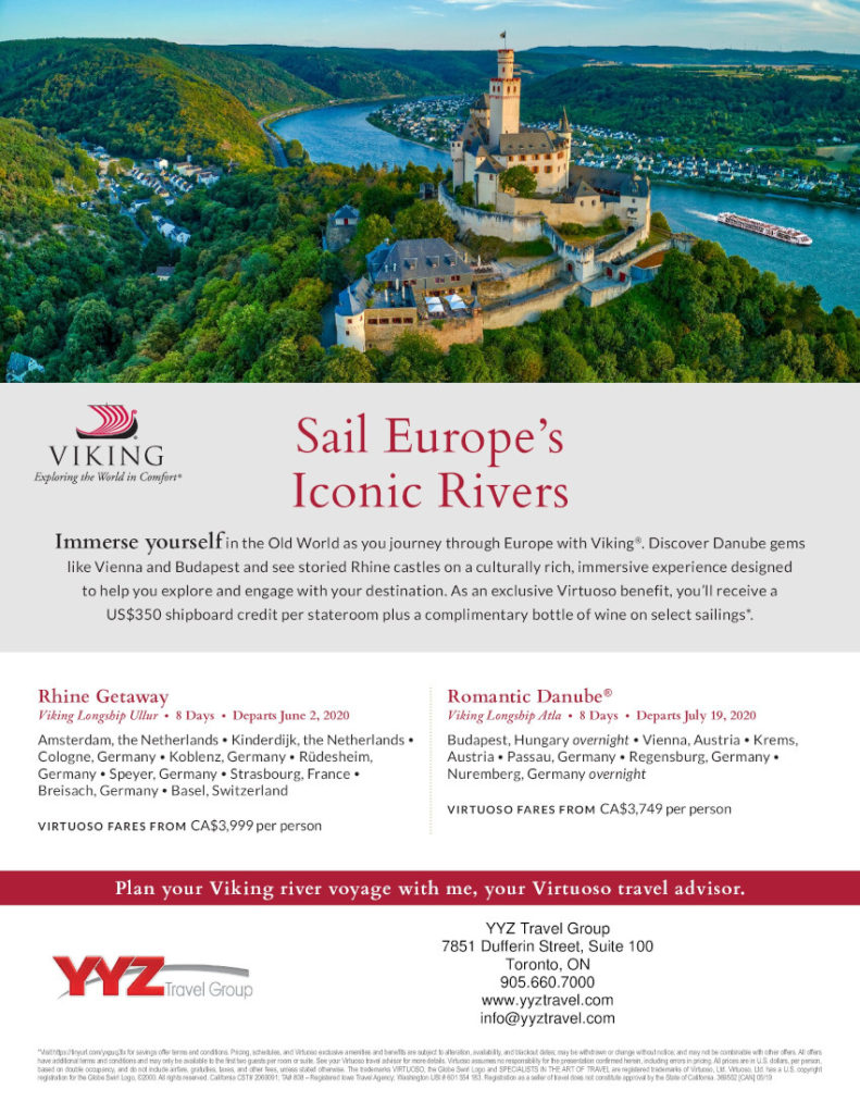 Sail Europe's Iconic Rivers