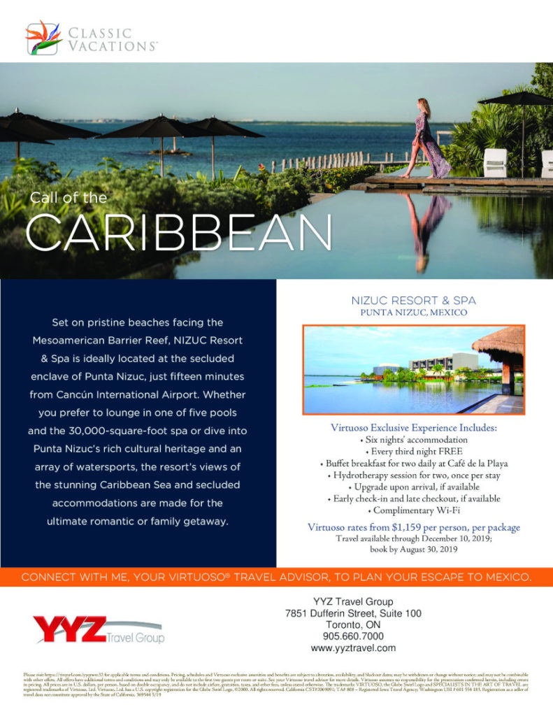 Call of the Caribbean Punta Nizuc resort