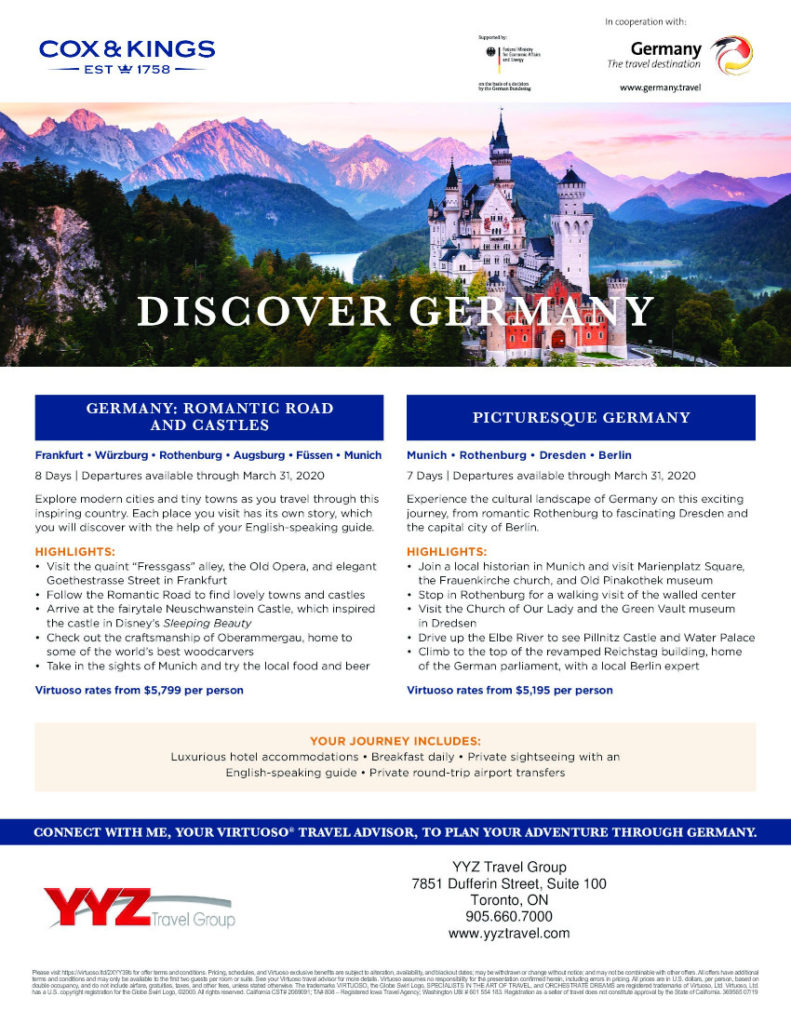 Discover Germany with Kox&Kings
