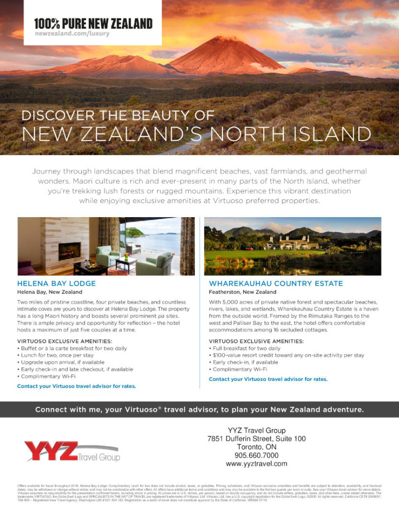 Discover the beauty of New Zealand's North Island