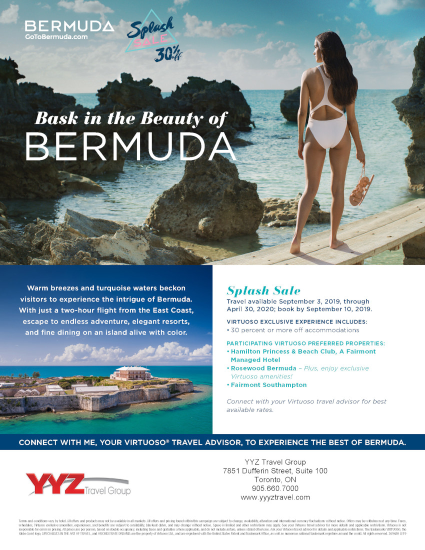 Bask in the Beauty of Bermuda