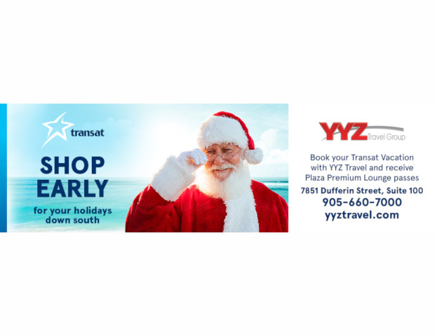 Shop yearly your holidays down south with YYZ Travel